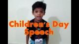 Children's Day Speech for Kids