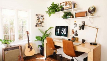 Home Office Ideas for Living Room