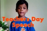 Teachers Day Speech for Kids